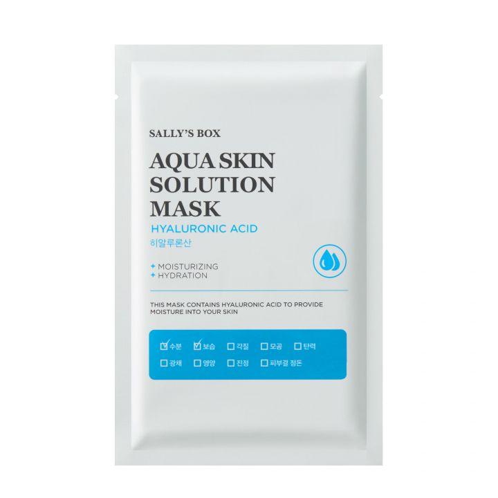 Увлажняющая тканевая маска для лица с гиалуроновой кислотой Sally's Box
