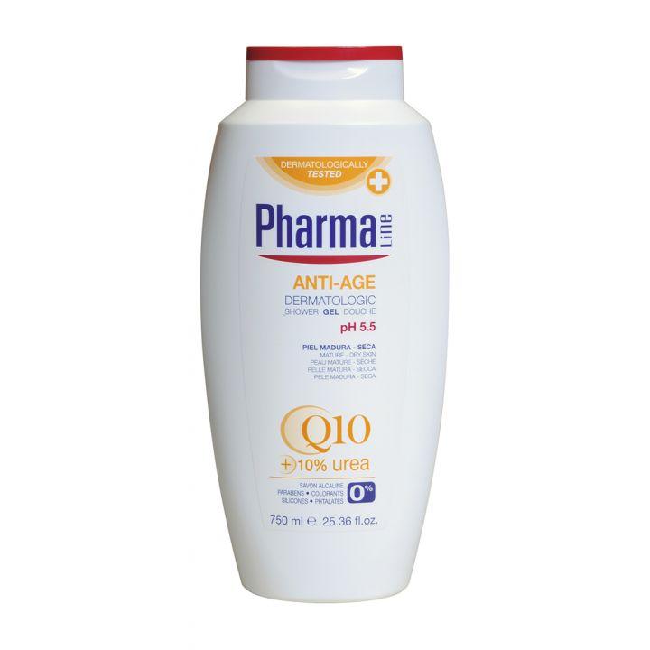 Антивозрастной гель для душа Herbal Pharmaline Anti-Age Dermatologic Shower Gel