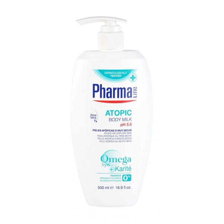 Молочко для сухой и чувствительной кожи тела Herbal Pharmaline Atopic Body Milk