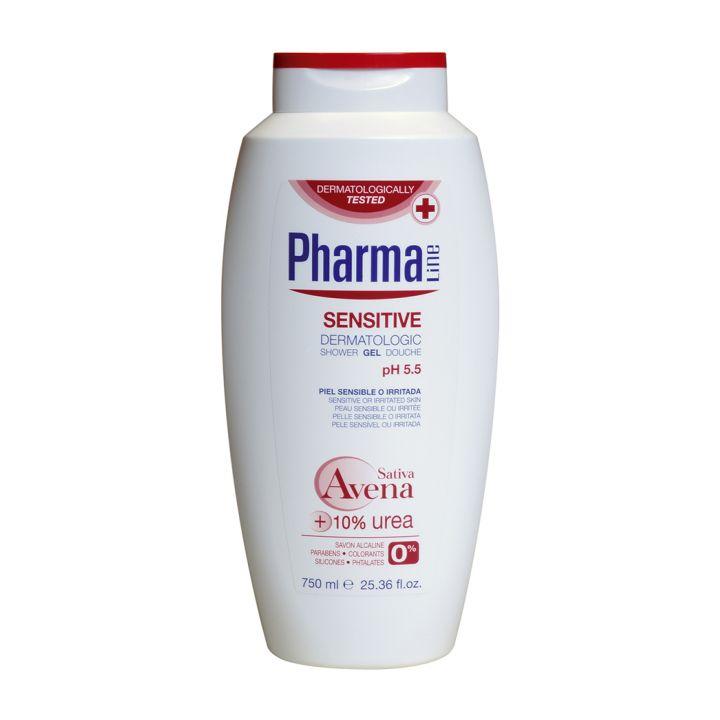 Гель для душа для чувствительной кожи Herbal Pharmaline Sensitive Dermatologic Shower Gel